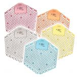 P-Wave Hex 3D Urinal Screen (6 x boxes of 10)