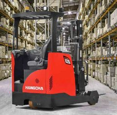 Electric mini range reach truck forklift 1500kg capacity - Hangcha