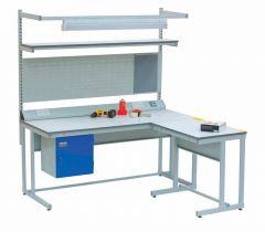 Laminate - Height Adjustable Workbench