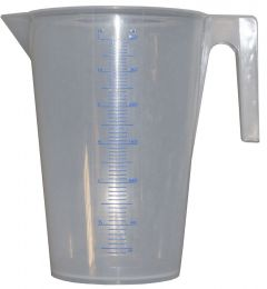 3l graded measuring jug - Calibrated Measuring Jug (3l)