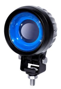 Blue Arrow Spot Lamp