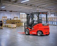 Hangcha Electric 4 Wheel Forklift - 1000kg Capacity