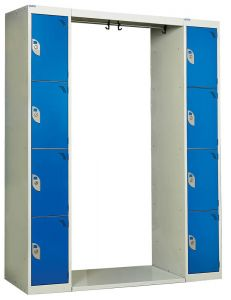 Archway Locker 8 Tier 1800mm x 1500mm x 300mm