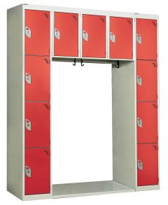 Archway Locker 11 Tier 1800mm x 1500mm x 450mm