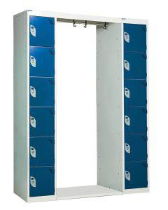 Archway Locker 12 Tier 1800mm x 1625mm x 300mm