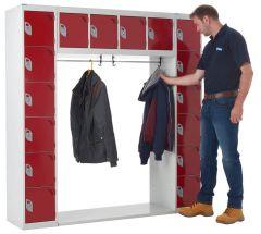 Hangers to suit 8 Tier Archway Locker