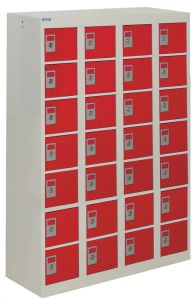 Personal Effects Locker 28 Tiers 1285mm x 900mm x 380mm