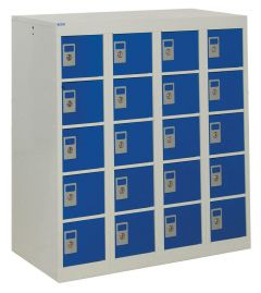 Personal Effects Locker 20 Tiers 940mm x 900mm x 380mm
