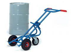 Steel Drum Trolley (1 castor)