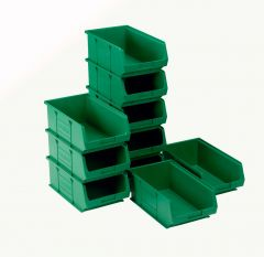 TC4 Semi-Open Fronted Containers x 10