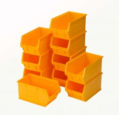 TC5 Semi-Open Fronted Containers x 10