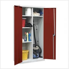 Red Utility Cupboard 1800mm x 1200mm x 460mm