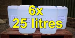 Buy 6x 25 litre Deionised Water