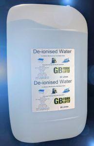 De-ionised Water (25 litres)