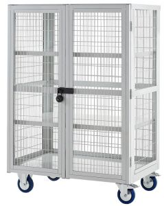 Steel Boxwell with Doors -Mobile Shelving Storage