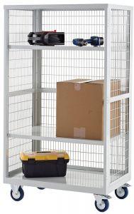 Steel Boxwell Mobile Shelving Storage (Open, No Doors)
