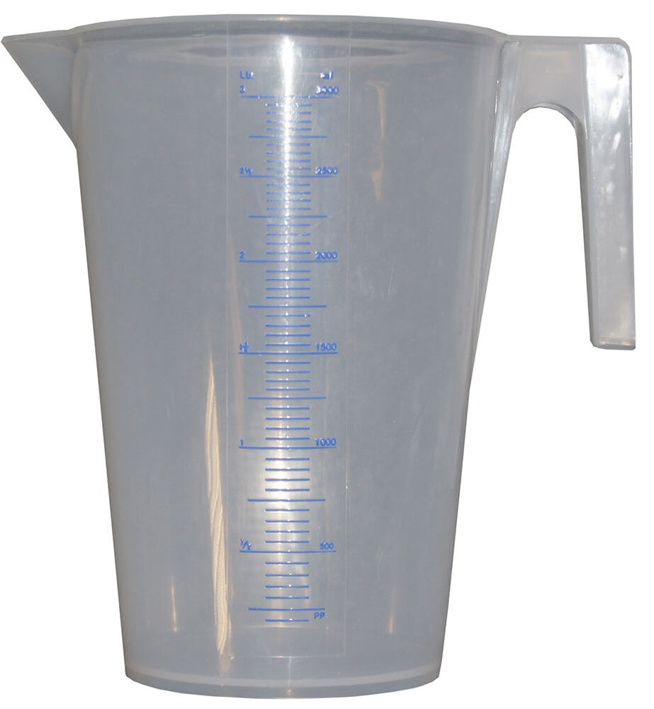 3l graded measuring jug - Calibrated Measuring Jug (3l)
