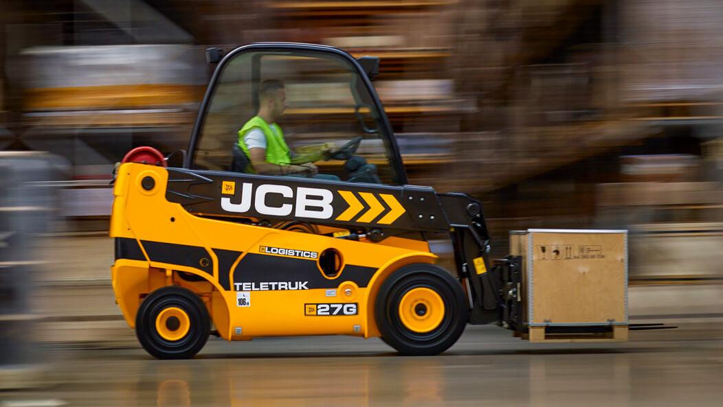 JCB Teletruk (JCB Telehandler) 2WD TLT27 - Diesel & Gas
