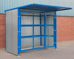 Double Gate Open Drum Storage 2100mm x 25000mm x 1900mm