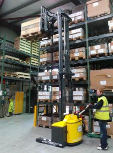 Combi Walkie Reach Truck Range 4 Way