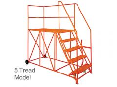 Single Ended Access Platform 1600mm(D)  x 762mm(W) - Various tread count and colours