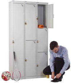 Padlock Locker 1800mm x 300mm x 300mm