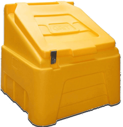 Winter Grit Salt Storage Bin